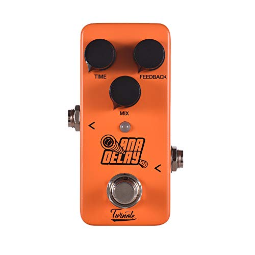 Guitar Effect Pedal ANA DELAY Mini Digital Delay Processsor Full Metal Shell with True Bypass