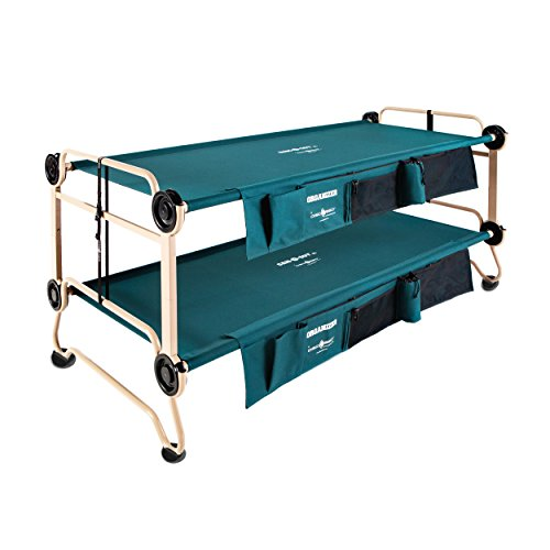 Disc-O-Bed Cam-O-Bunk Large Bunk Combo with 2 Organizers and 4...