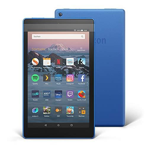 Fire HD 8-Tablet, 16 GB, Blau, mit Spezialangeboten