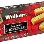 Walkers Biscotti Scozzesi Puro Burro – 1 x 150 Grammi