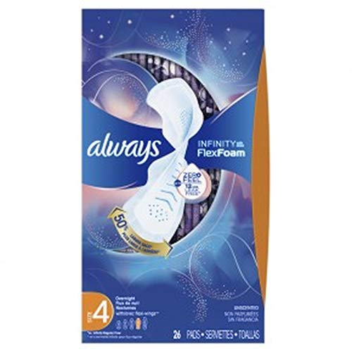 Always Infinity Pads with Wings Overnight