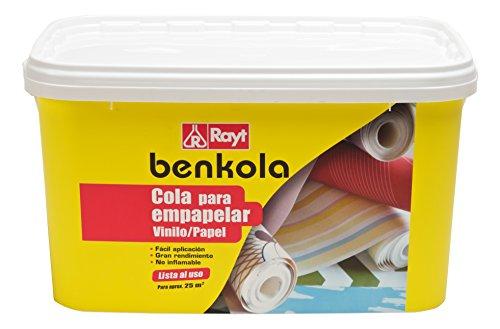 Rayt 1760-23 Benkola Cola para empapelar. Lista al Uso Pintado o Vinilo con Dorso de Papel o Tejido, 5kg