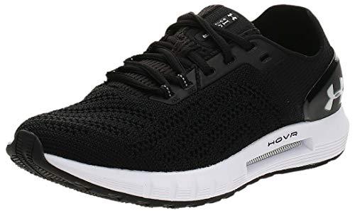 Under Armour Women's Hovr Sonic 2 Running Shoes, Black Black White White 003 003, 3.5 UK