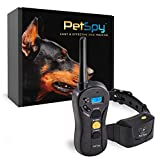 PetSpy P620 Dog Training Shock Collar for Dogs with Vibration, Electric Shock,...