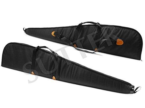 SUTTER Premium Housse Fusil et Fourreau Fusil 132x28x4cm Noir/Housse pour Arme