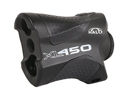 Halo XL450 Range Finder, 450 Yard laser range finder for rifle and bow hunting