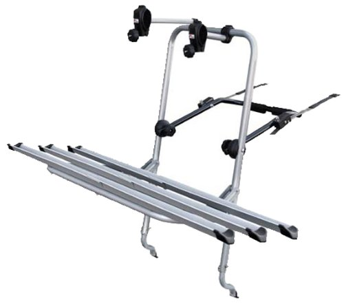 Menabo LOGIC 3 portabici posteriore per 3 biciclette, fissaggio meccanico