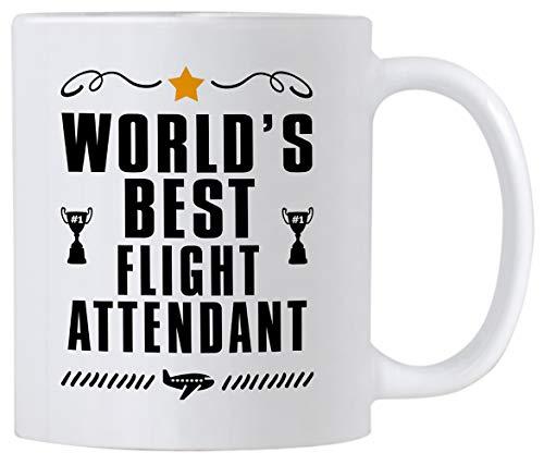 Flight Attendant Gifts. World's Best Flight Attendant 11...