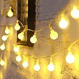 Fulighture 5M Guirlande Lumineuse,Guirlande Lumineuse Boules,40 Petites...