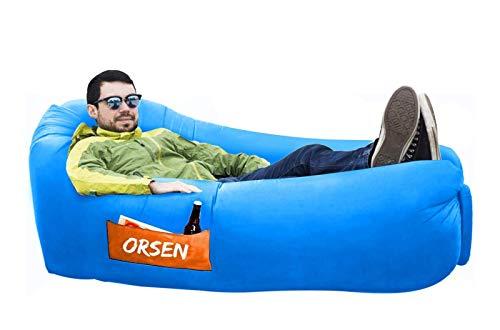 ORSEN Luft Sofa Couch, wasserdichtes aufblasbares Sofa,...
