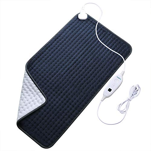 XXX-Large Heating Pad for Fast Pain Relief, Fda Approved, Electric 6 Heat Setting with Auto Off, Moist Therapeutic Option for Neck Back Shoulder, 33' X 17'