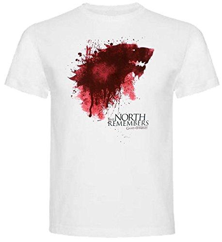 The Fan Tee Camiseta de Hombre Juego de Tronos Stark Tyrion Dragon Daenerys Khaleesi Valar Arya L