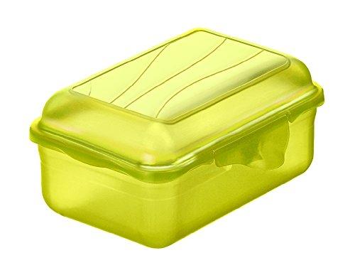 Rotho Funbox Vesperdose 0.4 l, Kunststoff (BPA-frei), grün, 0.4 Liter (12,5 x 9 x 5,8 cm)