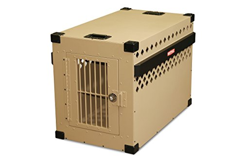 Impact Dog Crates (Stationary, 450 Model, X-Large, Customer Assembled, TAN in Color