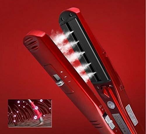 Steam Hair Straightener Straightening Irons Brush...