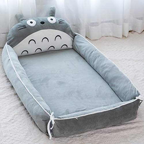 Product Image 1: VIVITG Cartoon Totoro Baby Bed Stuffed Sofa Infant Chair Plush Cute Anime Sofa Bed, for Kids Baby Play Mat Floor Mat, 906035cm