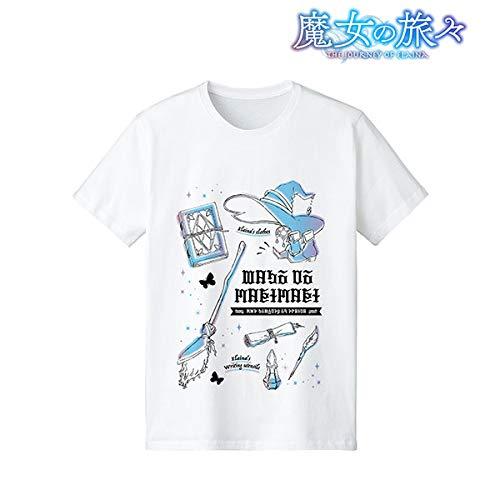 魔女の旅々 イレイナ Ani-Sketch Tシャツ メンズ