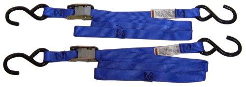 Ancra 40888-34-02 Blue Original Premium Cam Buckle Tie Down, 4 Pack