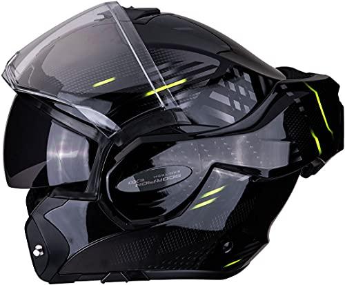 SCORPION Casque moto EXO-TECH PULSE Noir, Noir/Bleu/Blanc, M