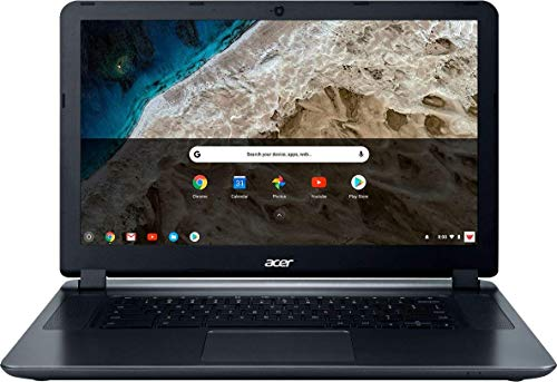 2018 Acer 15.6' HD WLED Chromebook 15 with 3X Faster WiFi Laptop Computer, Intel Celeron Core N3060 up to 2.48GHz, 4GB RAM, 16GB eMMC, 802.11ac WiFi, Bluetooth 4.2, USB 3.0, HDMI, Chrome OS
