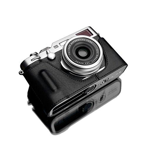 GARIZ FUJIFILM X100F用 本革カメラケース XS-CHX100FBK ブラック