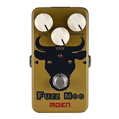 Doolland AM-FZ Fuzz Moo Fuzz Guitar Effect Pedal True Bypass Full Metal Shell