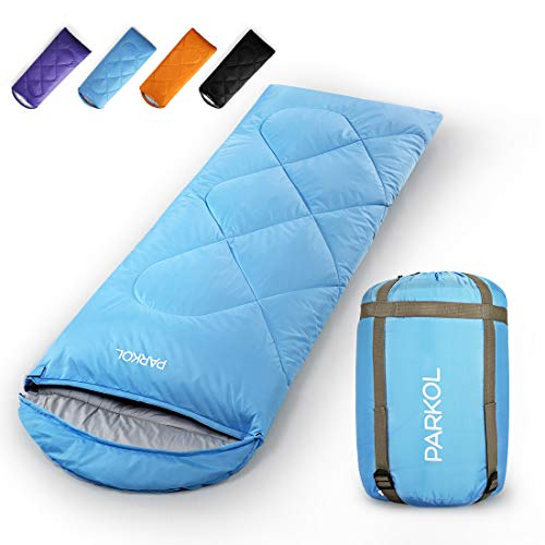 PARKOL Sleeping Bag for Adults & Kids - 4 Seasons Warm & Cold...
