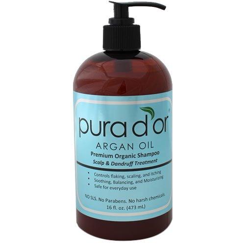 PURA D'OR Scalp & Dandruff Premium Organic Argan Oil...