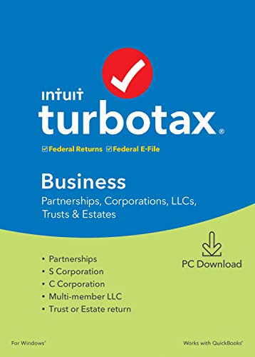 TurboTax Business 2019 Tax Software [PC Download]