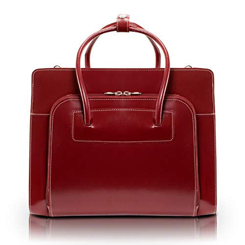 McKleinUSA LAKE FOREST 94336 Red Leather Women's...