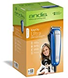 ANDIS Company PET Easy Clip Ultra Clipper Kit for Pets Blue 10 Piece