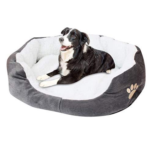 Bumplebee Hundebett Waschbar Orthopaedic Memory Plüsch Warm Weiche Hundesofa für Kleine Mittlere Grosse Hunde und Katzen