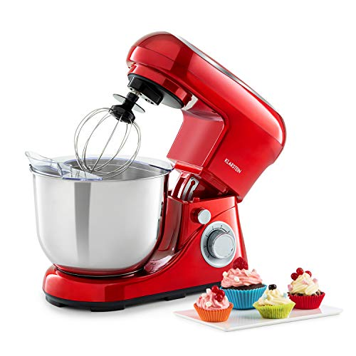Klarstein Bella Pico 2G - Robot da Cucina, Mixer, Impastatrice, 1200 W / 1,6 PS, 6 Livelli, Sistema...
