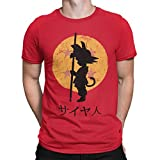 Camisetas La Colmena 164 T-shirt Dragon Ball (ddjvigo) Rouge rouge L