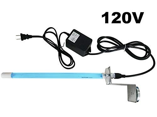 Pure Uv Light AIR Purifier for Ac HVAC Coil 120v Plug-in 14' Germicidal Bulb with Magnet