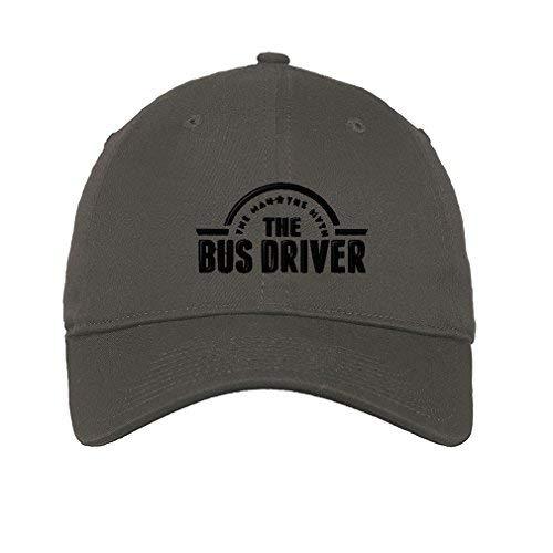 Soft Baseball Cap Bus Driver Man Myth Embroidery Profession...