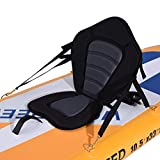 Hemousy Kayak Seat for Paddle Board Canoe Fishing Boat 33.5×21.6×2IN Seat with Back Support Comfortable