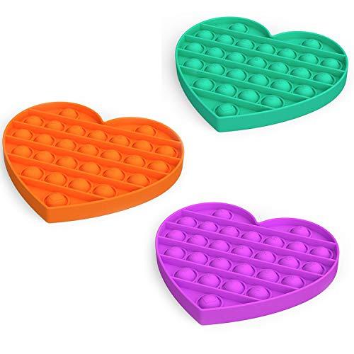 Push pop Bubble Sensory Fidget Toy Autism Special Needs...