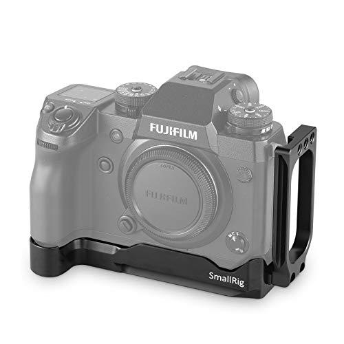 SmallRig Fujifilm X-H1専用L-ブラケットキット Fujifilm X-H1対応 L型プレート 軽量 取付便利 耐久性 耐食性-2178