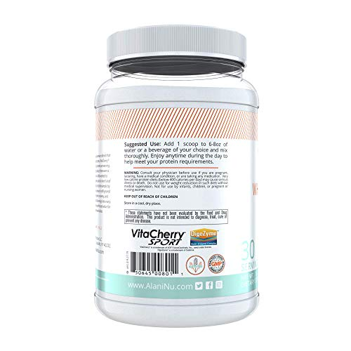 Alani Nu Whey Protein Powder, 23g of Ultra-Premium, Gluten-Free, Low Fat Blend of Fast-digesting Protein, Fruity Cereal, 30 Servings 4