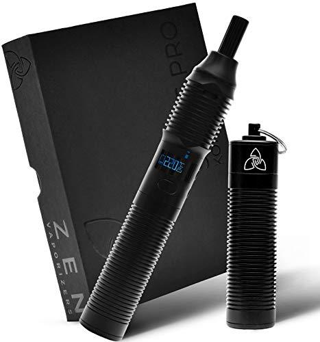 Vaporizador Zen Stilus Pro de conducción con dos baterías, un cargador adicional y una salida de primera clase, modular ampliable + 2 años de soporte ZEN Premium