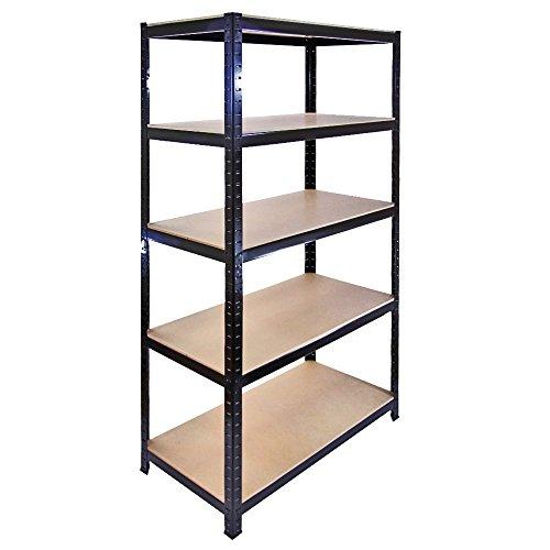 The Shopfitting Shop Heavy Duty 5Livello Boltless Garage scaffalatura Serra Utility Storage Rack...