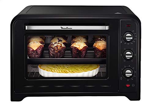 Moulinex OX4958 Forno Elettrico, 7 modalit di Cottura, Design Moderno, 2200 W, 60 Litri