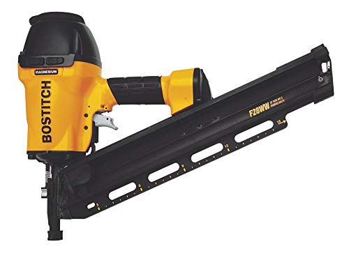BOSTITCH Framing Nailer, Clipped Head, 2-Inch to 3-1/2-Inch, Pneumatic (F28WW)