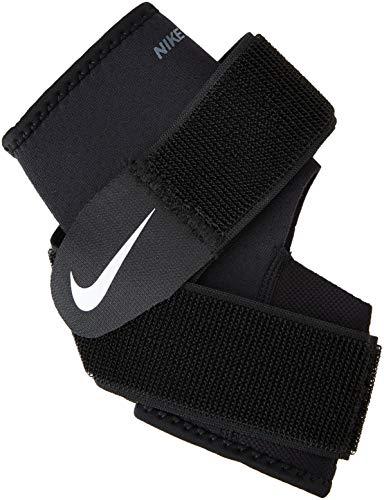 Nike Pro Combat Ankle Wrap 2.0,Large(Black/White)