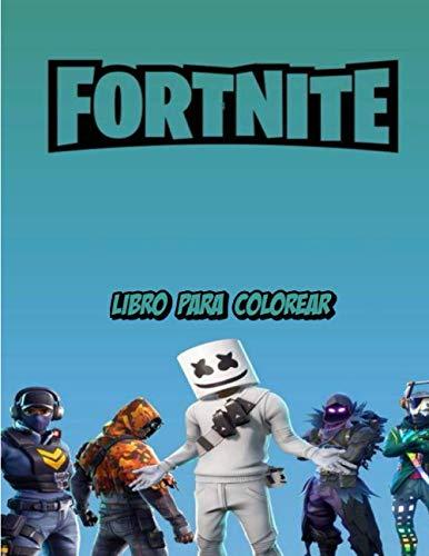 Fortnite Libro Para Colorear: Gran libro para colorear de Fortnite que contiene más de 100 imágenes con alta calidad de todas las edades.