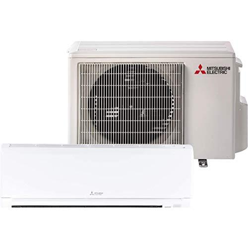 Mitsubishi 15,000 Btu 21.6 Seer Single Zone Ductless Mini Split Heat Pump System (AC and Heat)
