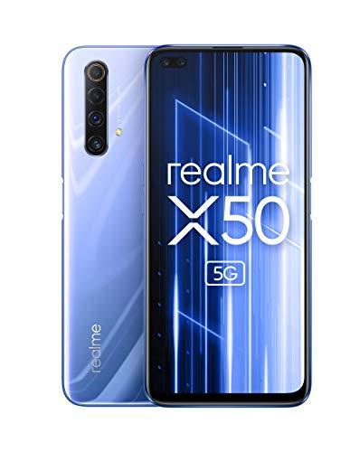 realme X50 5G - Smartphone de 6.57', 6 GB RAM + 128 GB ROM, Procesador...