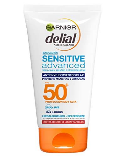 Garnier Delial Sensitive Advanced - Protector Solar Facial UV Gel...