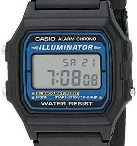Casio Men's Illuminator Quartz Watch with Resin Strap, Black, 18 (Model: EAW-F-105W-1A) 23